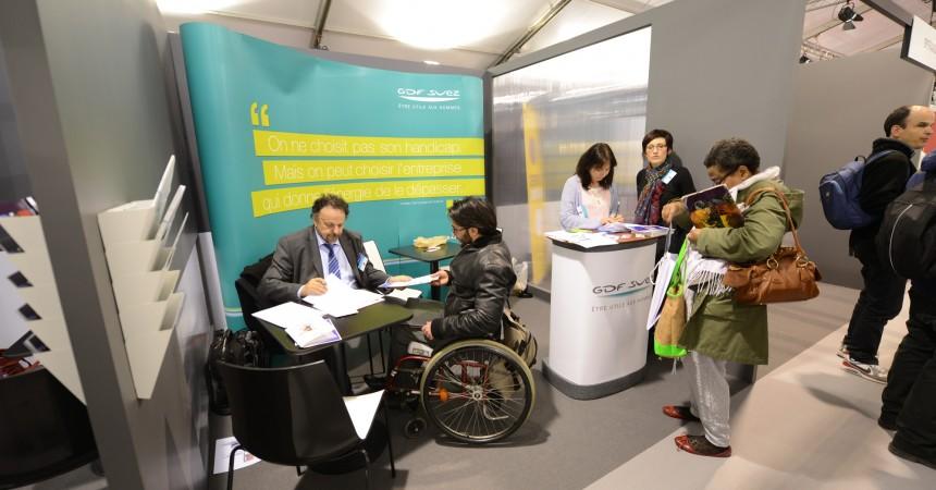 Pour l'édition 2015, le forum Pass pour l'Emploi a encore fait le plein