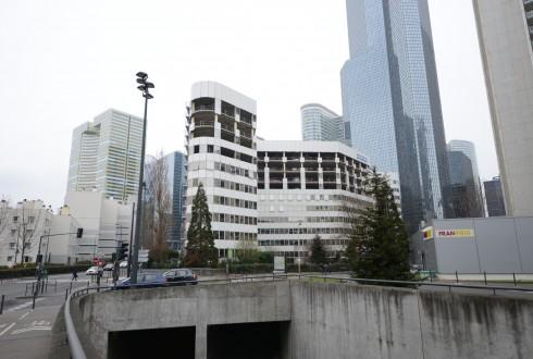 La rénovation de l'immeuble E+ le 24 mars 2015 - Defense-92.fr