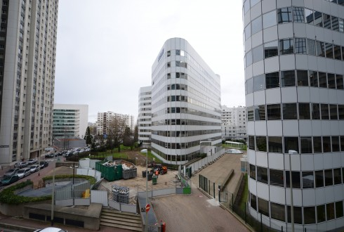 La rénovation de l'immeuble E+ le 3 mars 2015 - Defense-92.fr