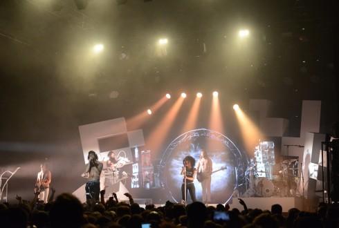 Le concert de Shaka Ponk au festival Chorus le 29 mars 2015 à La Défense - Defense-92.fr