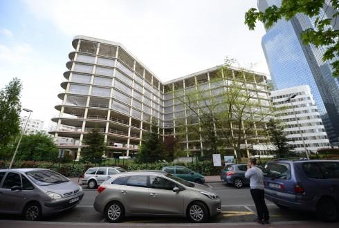 La rénovation de l'immeuble E+ le 27 avril 2015 - Defense-92.fr