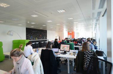 Plus d'un français sur trois apprécie de travailler en open space