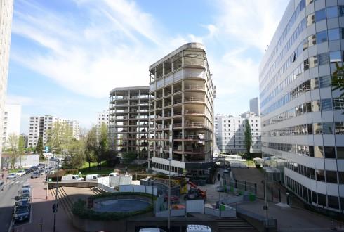 La rénovation de l'immeuble E+ le 20 avril 2015 - Defense-92.fr