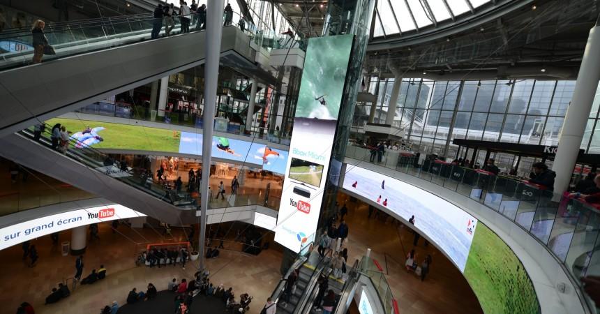"""Bouygues Telecom et sa nouvelle """"Bbox Miami"""" sont sur les écrans du Digital Dream des 4 Temps"""