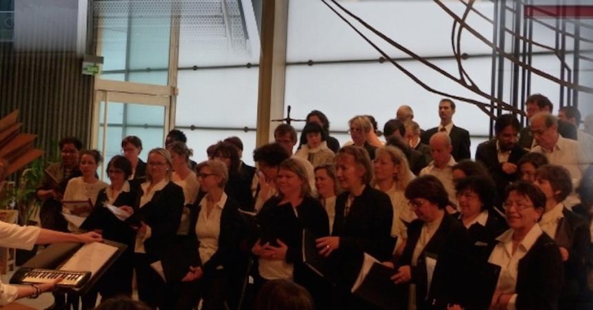 La chorale la Ritournelle en concert à Notre-Dame de Pentecôte