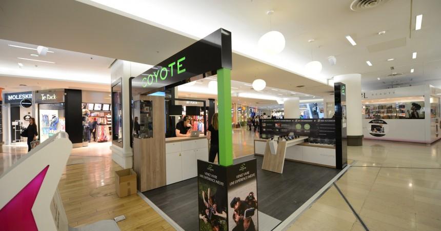 Coyote investit les 4 Temps avec un pop-up store