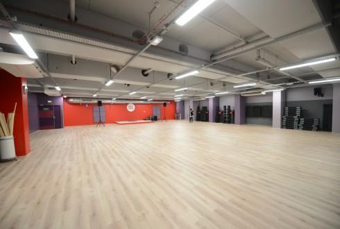 La salle pour les cours collectifs de Neoness - Defense-92.fr