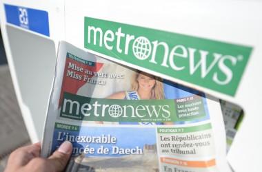 Metronews à La Défense c'est bientôt fini