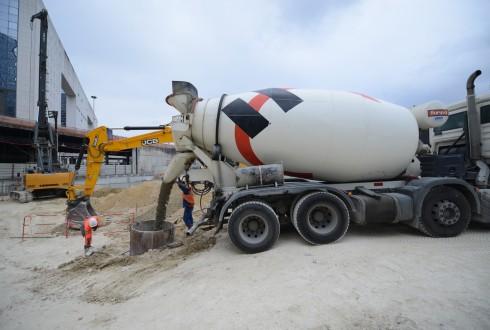 Les travaux du projet Sky Light le 15 juin 2015 - Defense-92.fr