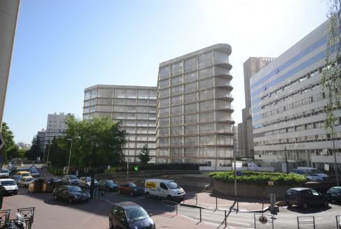 La rénovation de l'immeuble E+ le 8 juin 2015 - Defense-92.fr