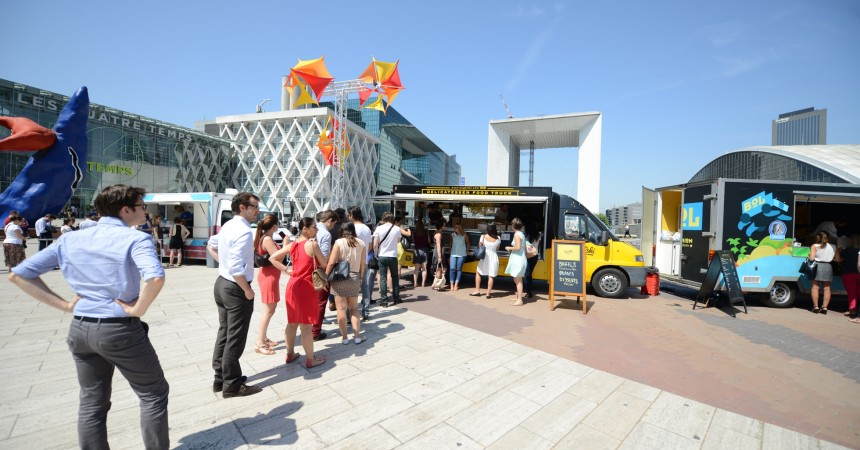 Vingt food trucks choisis pour régaler La Défense