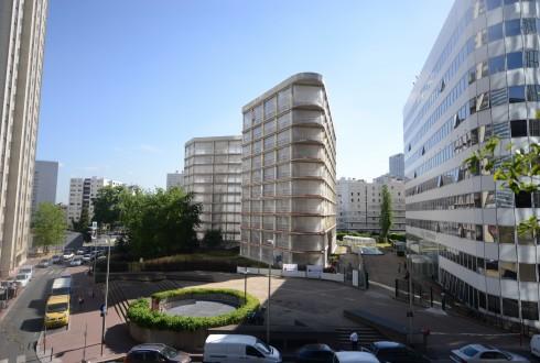 La rénovation de l'immeuble E+ le 6 juillet 2015 - Defense-92.fr