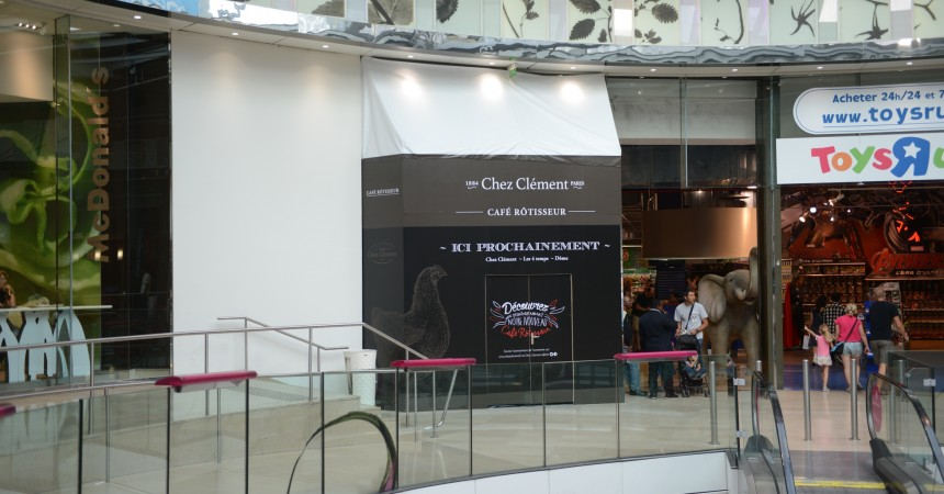 """Chez Clément  va déployer son nouveau concept """"Café Rôtisseur"""" aux 4 Temps"""