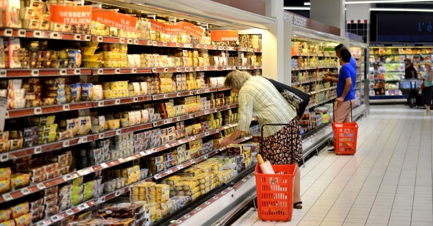 L'hyper Auchan de La Défense, se hisse à la onzième place  des moins chers du département