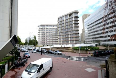 La rénovation de l'immeuble E+ le 24 août 2015 - Defense-92.fr