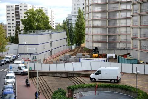 La rénovation de l'immeuble E+ le 14 septembre 2015 - Defense-92.fr