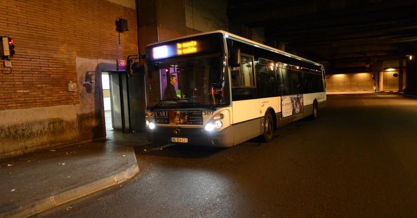 A La Défense un colis suspect dans un bus sème la pagaille