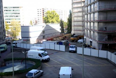 La rénovation de l'immeuble E+ le 28 septembre 2015 - Defense-92.fr