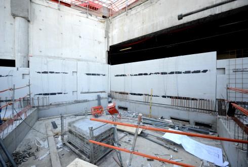 Les travaux du projet Sky Light le 28 septembre 2015 - Defense-92.fr