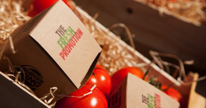 Burger King met à l'honneur ses tomates et propose à ses clients de les troquer contre un Whopper Jr