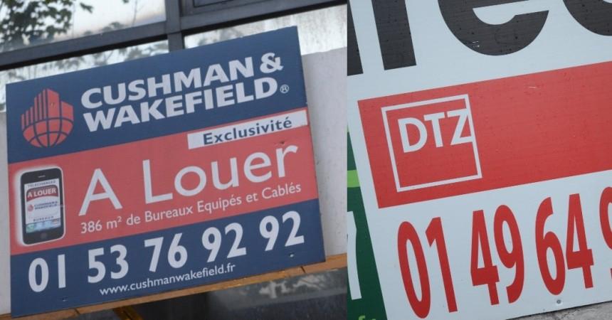 Cushman & Wakefield et DTZ fusionnent pour former un géant de l'immobilier