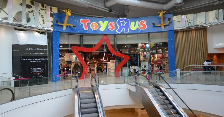 """Le Toys""""R""""Us des 4 Temps s'offre un lifting"""