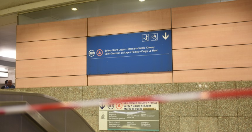 Enorme pagaille sur le RER A après un départ de feu à la gare de Nanterre-Préfecture