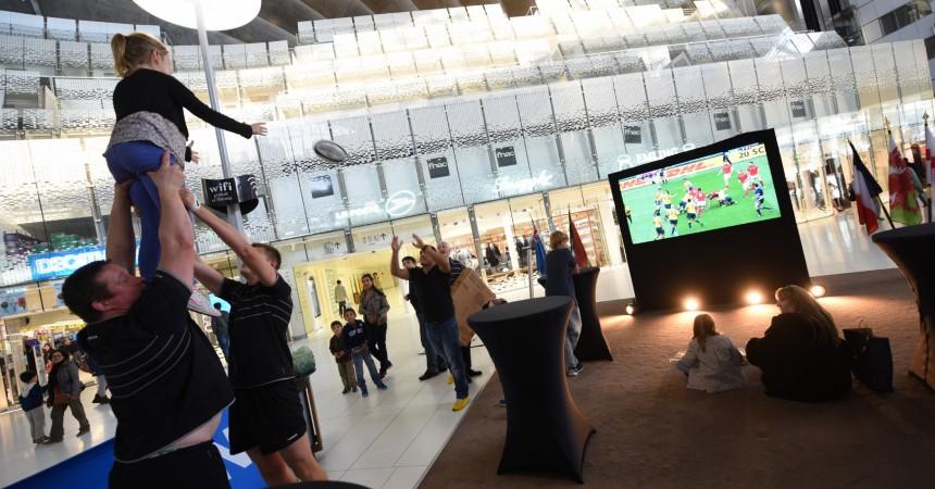 Le Cnit se met à l'heure anglaise pour la coupe du monde de rugby