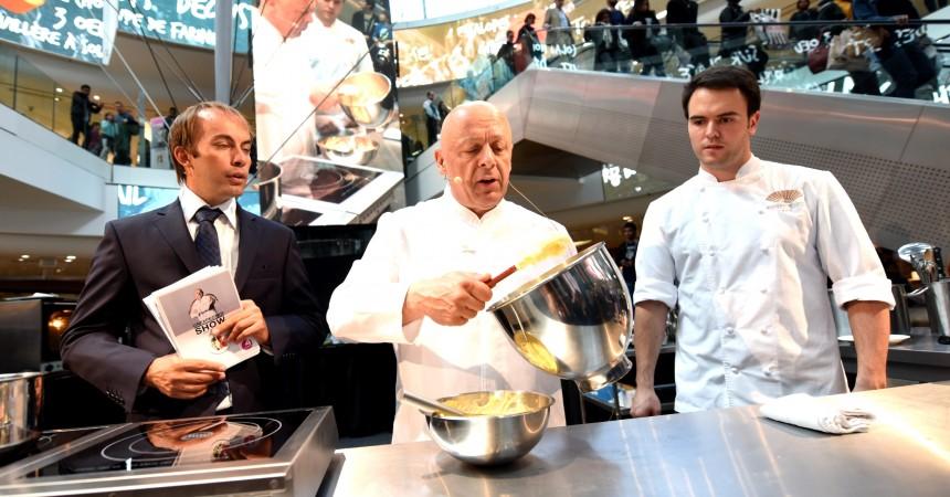 Thierry Marx délivre ses petits secrets en pâtisserie aux 4 Temps
