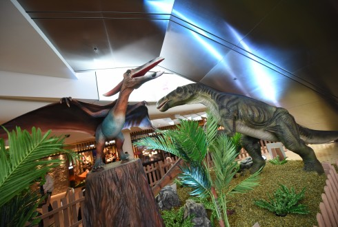 "L'exposition ""Unexpected Dino"" aux 4 Temps - Defense-92.fr"