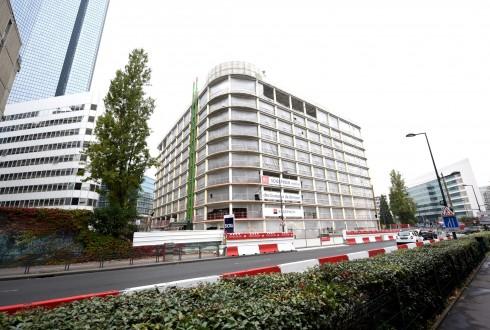 La rénovation de l'immeuble E+ le 19 octobre 2015 - Defense-92.fr