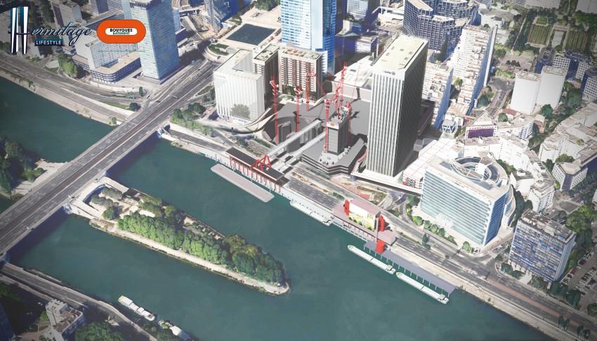 La méthodologie du chantier Hermitage Plaza - DR