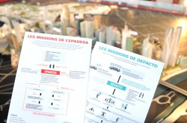 Valls annonce la fusion entre l'Epadesa et Defacto et suscite des interrogations