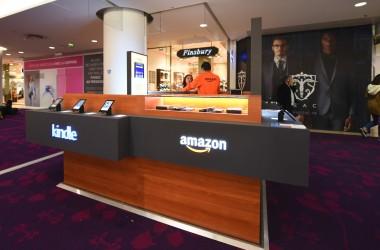 Amazon installe un pop-up store aux 4 Temps