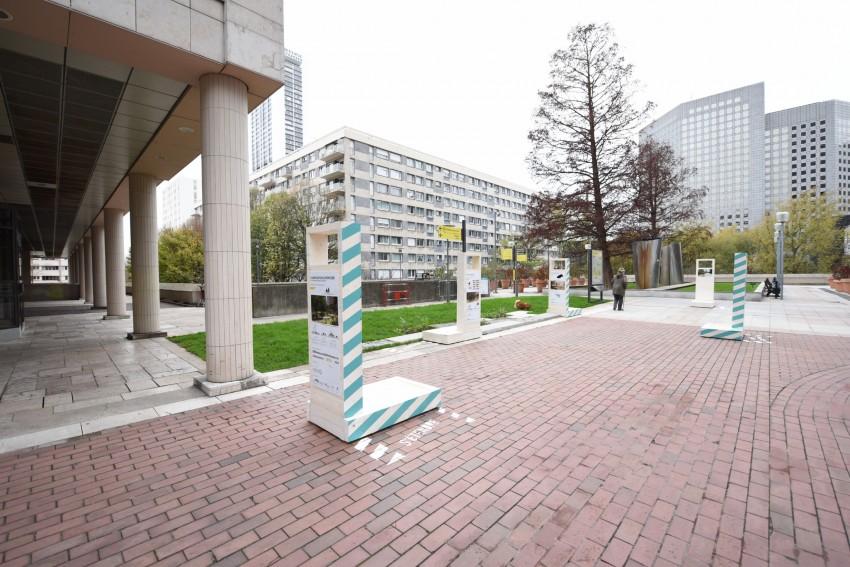 L'exposition sur le projet des Terrasses Boieldieu - Defense-92.fr