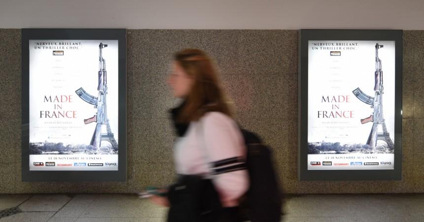 """Attentats à Paris : L'affiche du film """"Made in France"""" retirée du métro parisien, la sortie repoussée"""