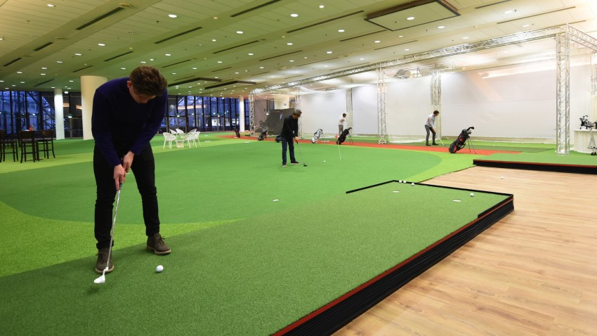 Le practice de golf de Be Better Center - Defense-92.fr
