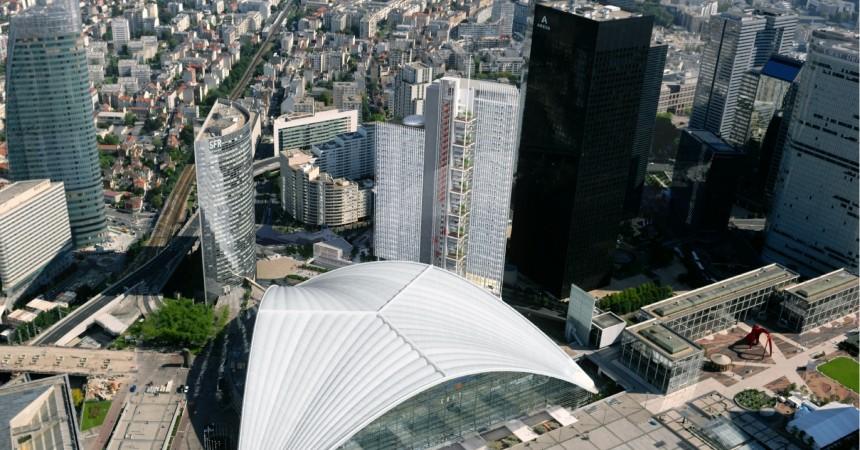 Vinci Construction va bâtir la tour Trinity