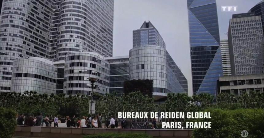 La série Zoo installe fictivement le siège de Reiden Global dans une tour de La Défense