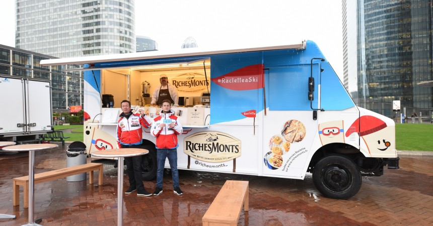 RichesMonts de retour à La Défense avec son food-truck
