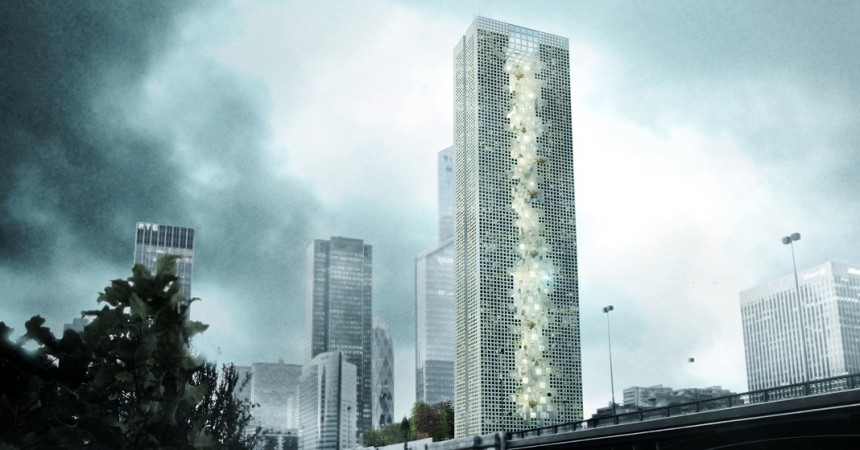 Tommaso Bernabò Silorata remporte le SuperSkyScrapers avec son Dizzying Rooftop Pool