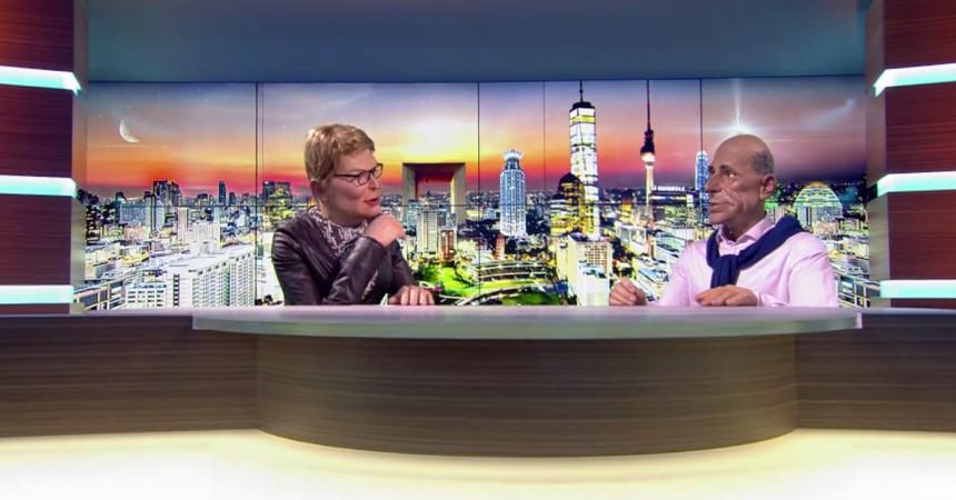 La Grande Arche en bonne place dans la nouvelle version des Guignols de Canal +