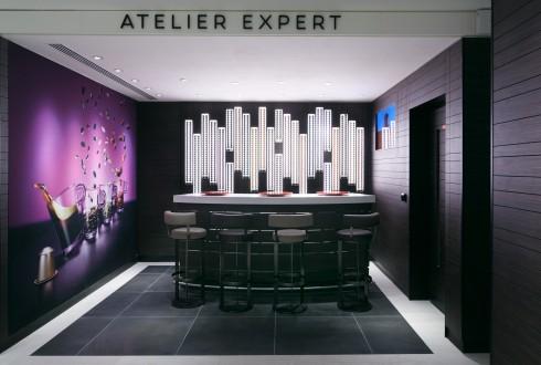 L'Atelier Expert de la boutique Nespresso du Cnit - DR