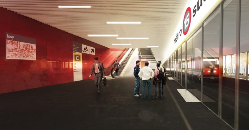 Les architectes des gares de la ligne 15 Ouest du Grand Paris désignés