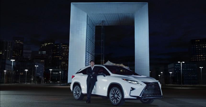 La Défense à l'honneur de la nouvelle campagne publicitaire télé de Lexus aux Etats-Unis
