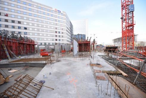 Le chantier Sky Light 4 janvier 2016 - Defense-92.fr