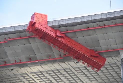 Les travaux de rénovation de la Grande Arche 4 janvier 2016 - Defense-92.fr
