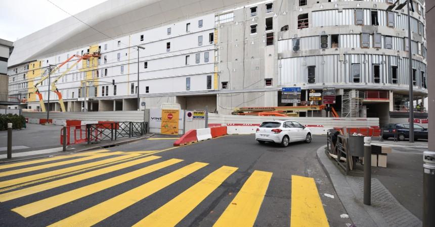 Chantier de l'Arena 92 : le boulevard Aimé Césaire fermé pour six mois