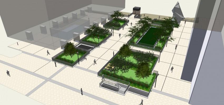 Le projet de rénovation de la terrasse des Reflets - Defacto