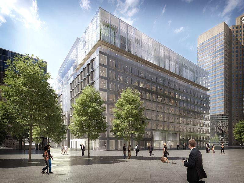 Le projet de rénovation de l'immeuble - Crochon Brullmann + Associés & Architecture et Environnement / Eurosic